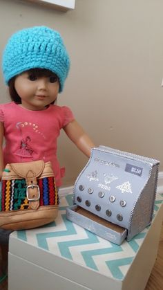 American Girl Doll Crafts and Fun!: Craft: Make A Cash Register