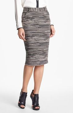 Trina Turk 'Smitty 2' Stripe Pencil Skirt available at #Nordstrom