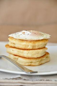 savory biscuit pancakes