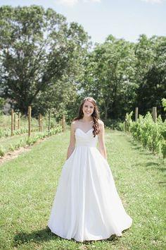 Bridal Shoot - Ballgown - at Faithbrooke Barn and Vineyards wedding in Luray, VA