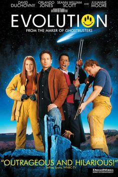 100 Years of Movie Posters: Science Fiction 2000-2004 A guilty pleasure. Reminded me a little of the original Ghostbusters Dynamic.