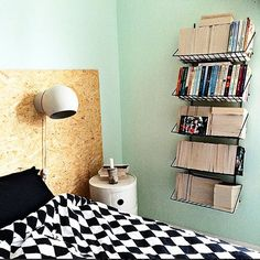 Best Bookcase Inspiration — Home Decor Shelfies Plywood Headboard, Painted Headboard, Antique Headboard, Home Design Decor, Home Decor, Home Bedroom, Bedroom Decor, Herringbone Headboard, Headboard Alternative