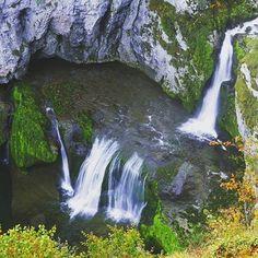 Un des sites les plus pittoresques du Jura : la cascade de la Billaude ! 💚