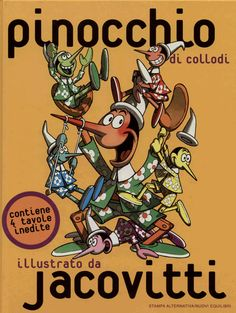 Pinocchio illustrato da Jacovitti