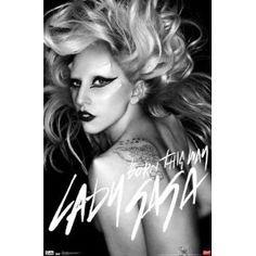 Lady Gaga Born This Way Music Poster Print - 22x34 Music Poster Print, 22x34 (Kitchen) - Found at    http://pinscene.info/?p=B004QCGSJU