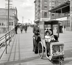 Atlantic City Boardwalk 1905