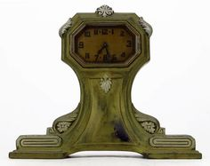 EXTREMELY RARE ART DECO LUX CLOCK