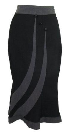 Vintage 60's Wiggle Office Lady Black Pencil Bottom Ruffle Skirt (2) Chic Star http://smile.amazon.com/dp/B00A7FSE74/ref=cm_sw_r_pi_dp_GWePtb1AZHVR8MTT
