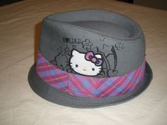 'Hello Kitty Hat - Adult Small' is going up for auction at  4am Wed, Feb 20 with a starting bid of $5.