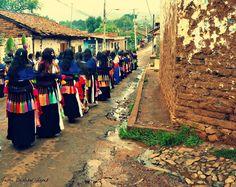 PROCESION GUADALUPANA EN TARECUATO.