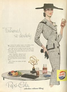 Pepsi ad, 1956 ...likely to live longer!
