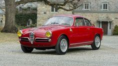 1959 Alfa Giulietta Sprint Veloce