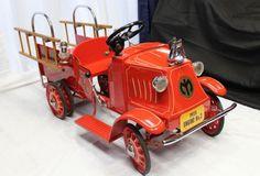 ... FIRE TRUCK Pedal Car w/ Dual