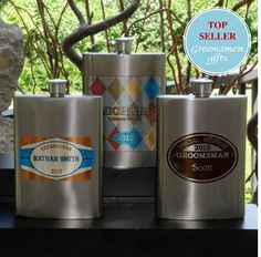 """Wingman"" flask series, great for the bachelor party."