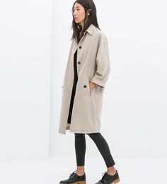 Loose-Fit Trench Coat is now part of the #simplechic collection on Haute Day. Check out http://hauteday.com/