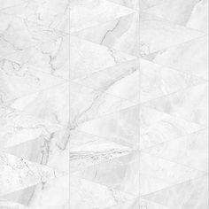 Papel de Parede Adesivo Mármore Claro 10207801 Double Room, Tile Floor, Flooring, Decoration, Crafts, Tiling, Finding Nemo, Stickers, Texture