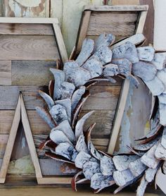How to make a pallet wood letter-love the wreath