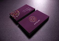 Amzuri Business Cards #BusinessCardDesign