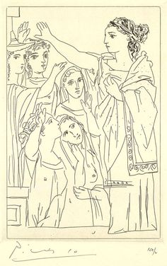 Happy Birthday, Picasso: His Rare 1934 Etchings for a Sexually Charged Ancient Greek Comedy | Brain Pickings