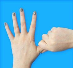 Press your Finger and Hold for 60 Seconds: The Whole World is Delighted on how this Act on the Body Organs! How To Help Nausea, Nerve Problems, Hand Reflexology, Body Organs, Ring Finger, Stress Relief, At Home Workouts, Hands, Exercise