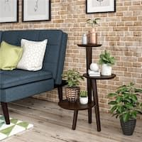 Shop Golden Cane Palm Artificial Tree in Oval Planter - Overstock - 19532788 Furniture Making, Living Room Furniture, Round Shelf, Display Family Photos, Modern Plant Stand, Sofa End Tables, Upholstered Platform Bed, Furniture Deals, Outdoor Sofa