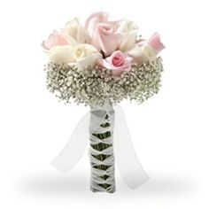 Lovely Bouquets With Light Pink Flowers