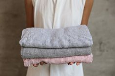 Linen Beach Blanket