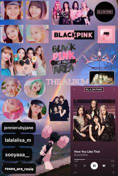 Cute School Supplies, Blackpink And Bts, Bts Stuff, Journal, Album, Iphone, Rose, Stuff Stuff, Lisa Blackpink Wallpaper