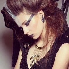 My makeup concept  for photo shoot ;)