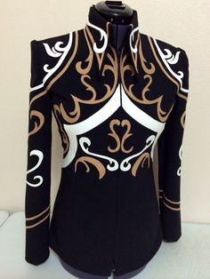 DIY showmanship jacket by Tandy Jo show apparel