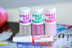Sprinkles on a cupcake: Maybelline - Dr. Rescue Nail Care