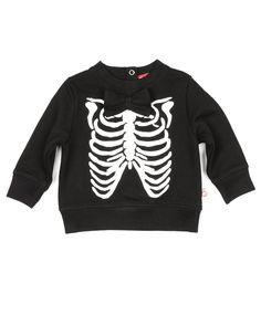 Rib Print Sweater