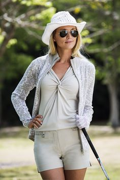 Daily Sports - Lookbook Ladies Golf, Women Golf, Golf Fashion, Golf Outfit, Female Golfers, Golf Style, Ss16, Clothes For Women, Tees