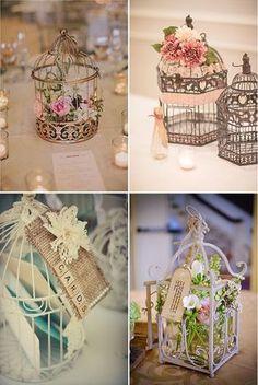 Wedding Bird Cages ~