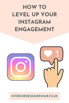 In our latest blog we take a look at how Interior Designers can maximise engagement on Instagram. Engagement is the first part of the Know... Like... Trust... process we teach Interior Designers to grow their client base. #interiordesignershub Interior Design Resources, Interior Design Business, How To Know, Need To Know, Business Advice, Level Up, Coaching, Trust, Designers