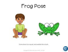 No Print Yoga for Kids | Animals by Language Speech and Literacy