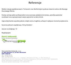 Referencje od NewLook Group. Fotograf-na-event-Referencje-New-Look-Advertising