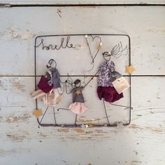 New Crafts, Crafts To Do, Moving Away Parties, Celebration Box, Wire Crafts, Hampers, Wire Art, Sewing For Kids, Brie
