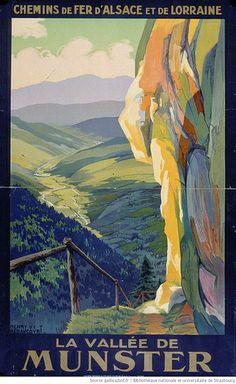 Chemins de fer d'Alsace et de Lorraine ~ La Vallee de Munster ~ France