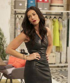 stacy london love lust run leather dress - Google Search
