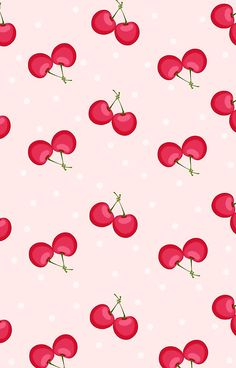 Sweet Cherries Unique Pattern