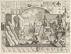 The Analysis of Beauty plate 1 (1753)