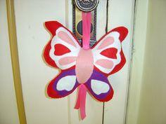 Borboleta para porta