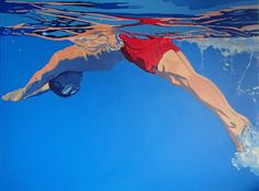 Aleksandra Matulewicz  acrylic on canvas 120 x 90 cm