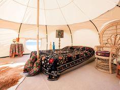 Yurt shaped tent