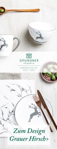 "Entdeckt hier das gesamte Sortiment des Designs ""Grauer Hirsch"" - handgefertigt seit 1492 Designs, Home Decor, Handmade, Grey, Decoration Home, Room Decor, Home Interior Design, Home Decoration, Interior Design"