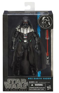 Darth Vader #02 Star Wars Black Series 6 Inch Action Figure: Amazon.co.uk: Toys & Games
