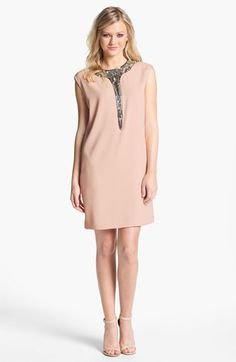 Erin by Erin Fetherston Embellished Shift Dress available at Nordstrom