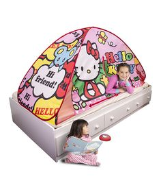 Look at this Hello Kitty Light-Up Bed Tent on #zulily today!