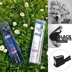 Black is White - New teeth whitening toothpaste from Curaprox. Have you tried it yet?
